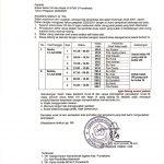 Jadwal Daftar Ulang Kelas VIII dan Kelas IX TP. 2020/2021